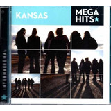 Cd Kansas - Mega Hits Internacional - Raridade Internacional