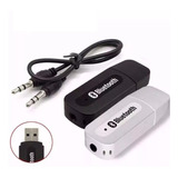 Receptor Bluetooth Usb Adaptador Musica P2 Cd Som E Carro